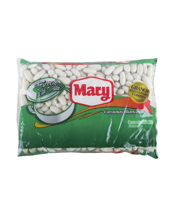 Caraotas blancas Mary 250grs