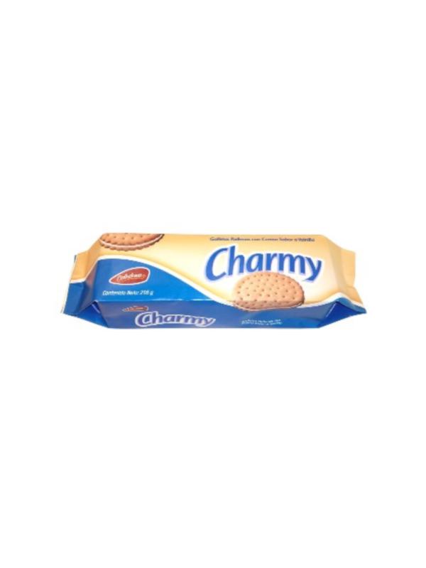 Galleta rellena de vainilla Charmy Celedonia 216 g