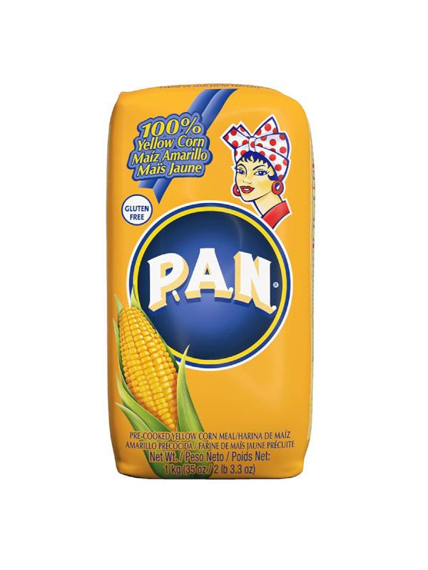 Harina de Maiz Amarillo PAN 1 Kg