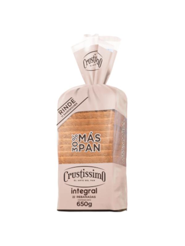 Pan integral Crustissimo 650 g