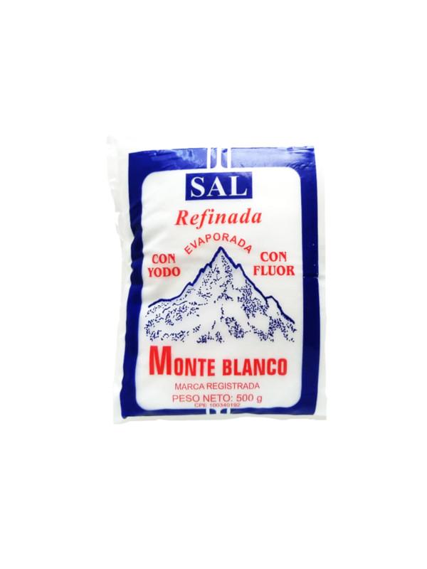 Sal refinada Monte Blanco 1 Kg