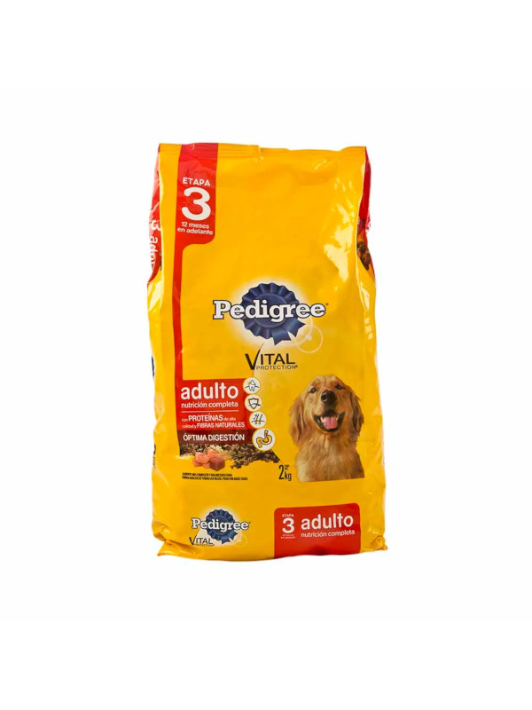 Alimentos Perros Adultos Pedigree 2 Kg