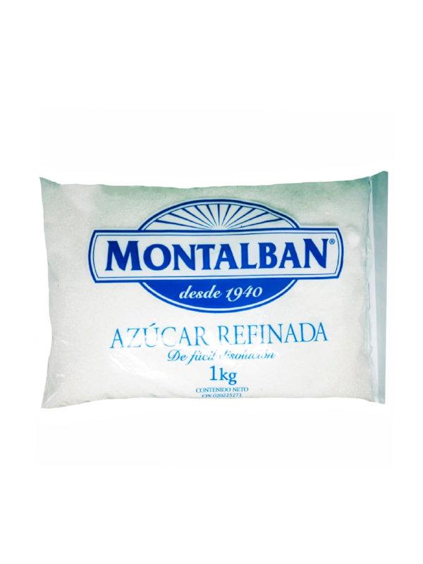 Azucar Refinada Montalban 1 Kg