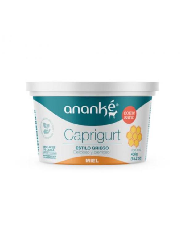 Caprigurt Miel Estilo Griego Ananké 430 g