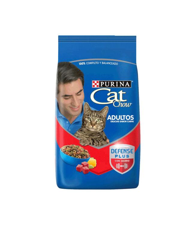 Cat Chow Adultos Carne Purina 500 g