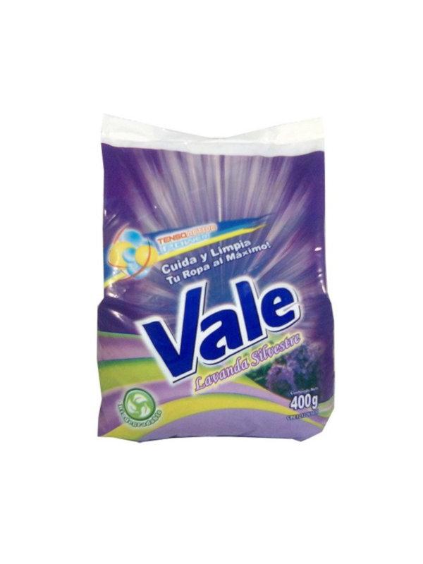 Detergente en Polvo Lavanda Silvestre Vale 400 g