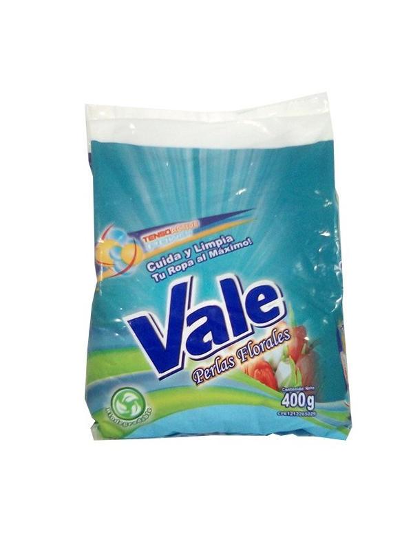 Detergente en Polvo Perlas Florales Vale 400 g