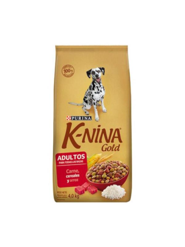 K nina Gold Adultos Carnes Cereales y Arroz Purina