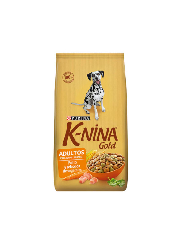 K-nina Gold Adultos Pollo y vegetales Purina