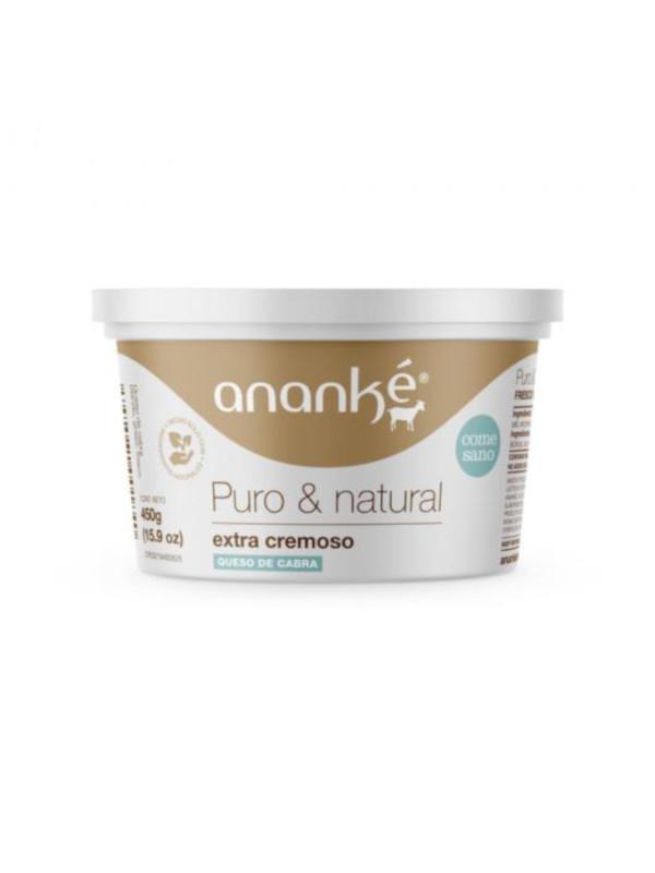 Queso de Cabra Natural Extra Cremoso Ananke