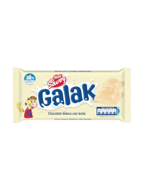 Chocolate Blanco con Leche Galak Savoy 130 g