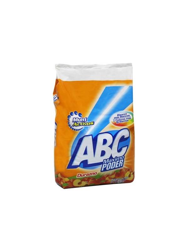 Detergente en Polvo Aroma Durazno ABC 1 Kg