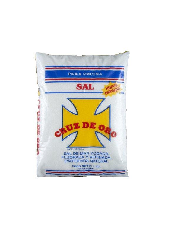 Sal Cruz de Oro 1 Kg