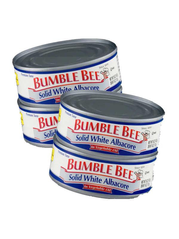 Atún en Aceite Vegetal Bumble Bee 142 g