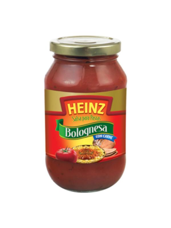 Salsa para Pastas Bolognesa con Carne Heinz 490 g