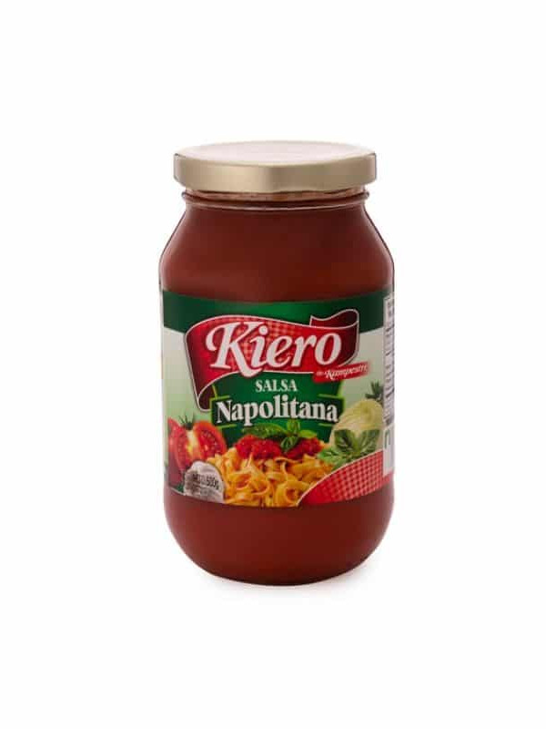 Salsa para Pastas Napolitana Kiero 500 g