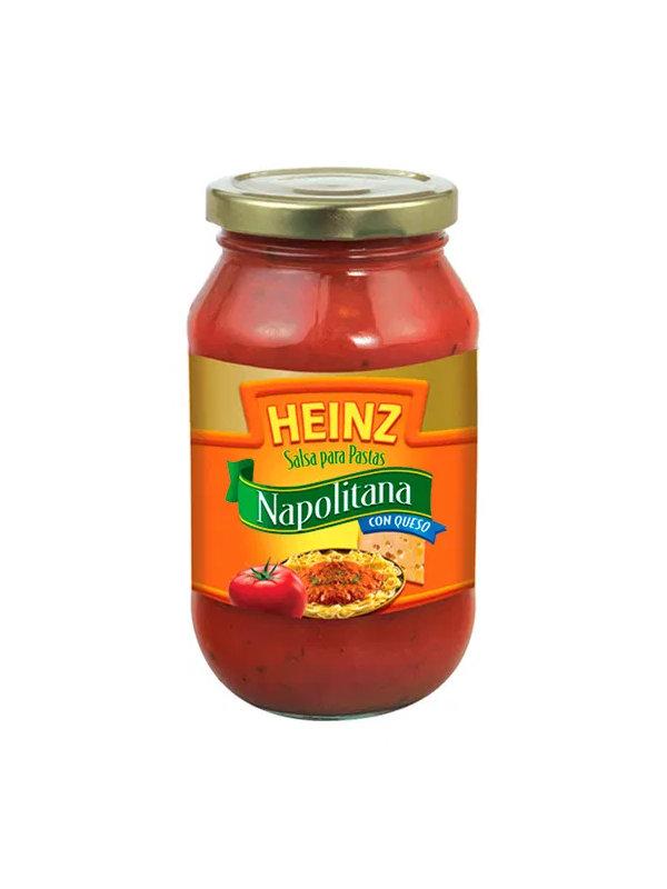 Salsa para Pastas Napolitana con Queso Heinz 495 g