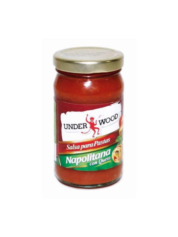 Salsa para Pastas Napolitana con Queso Under Wood