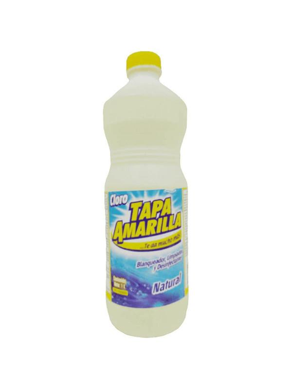 Cloro Natural Tapa Amarilla 1 L