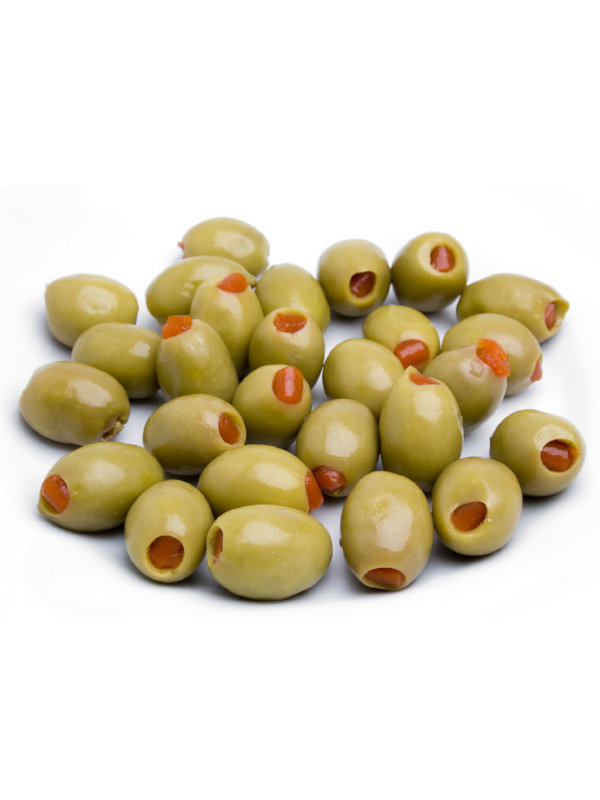 Aceitunas Verdes Rellenas de Pimentón