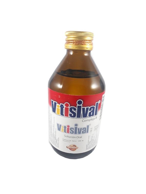 Complejo B Vitisival Jarabe Valmor 240 ml