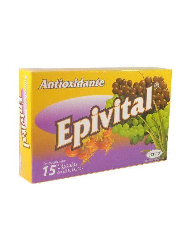 Epivital Antioxidante Jerico 15 Cápsulas
