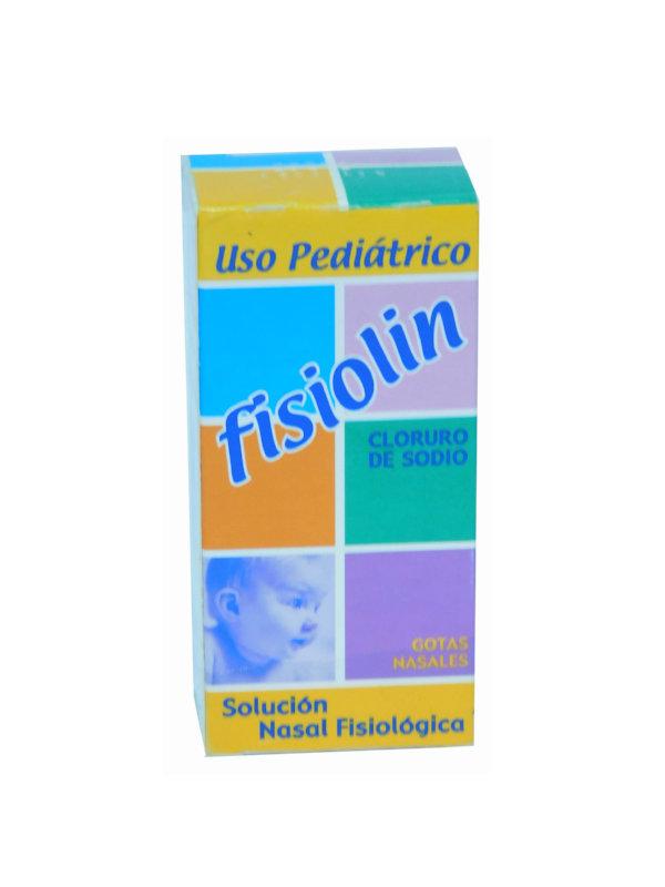 Fisiolin Solución Nasal Fisiológica Cloruro de Sodio Uso Pediatrico 15 ml