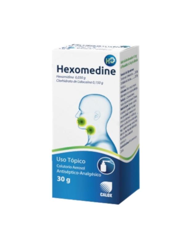 Hexomedine Colutorio Aerosol Calox 30 g