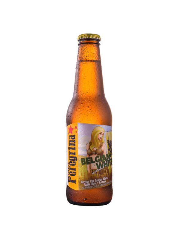 Cerveza Belgian White Peregrina 250 ml