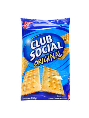 Galleta Club Social Original Nabisco 156 g