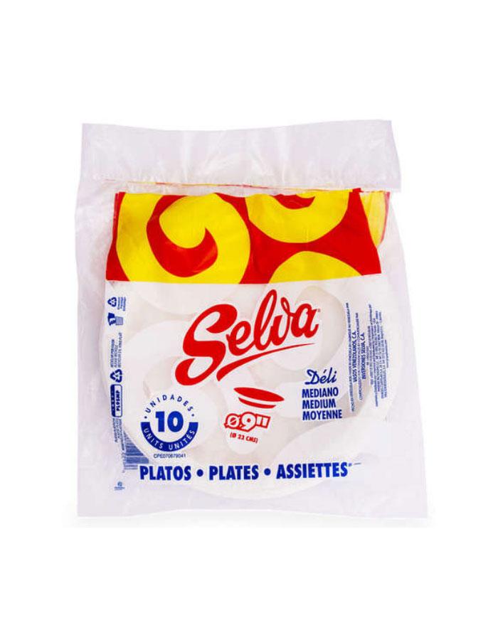 Platos-de-plastico-Med-9-Selva-10-Unidades